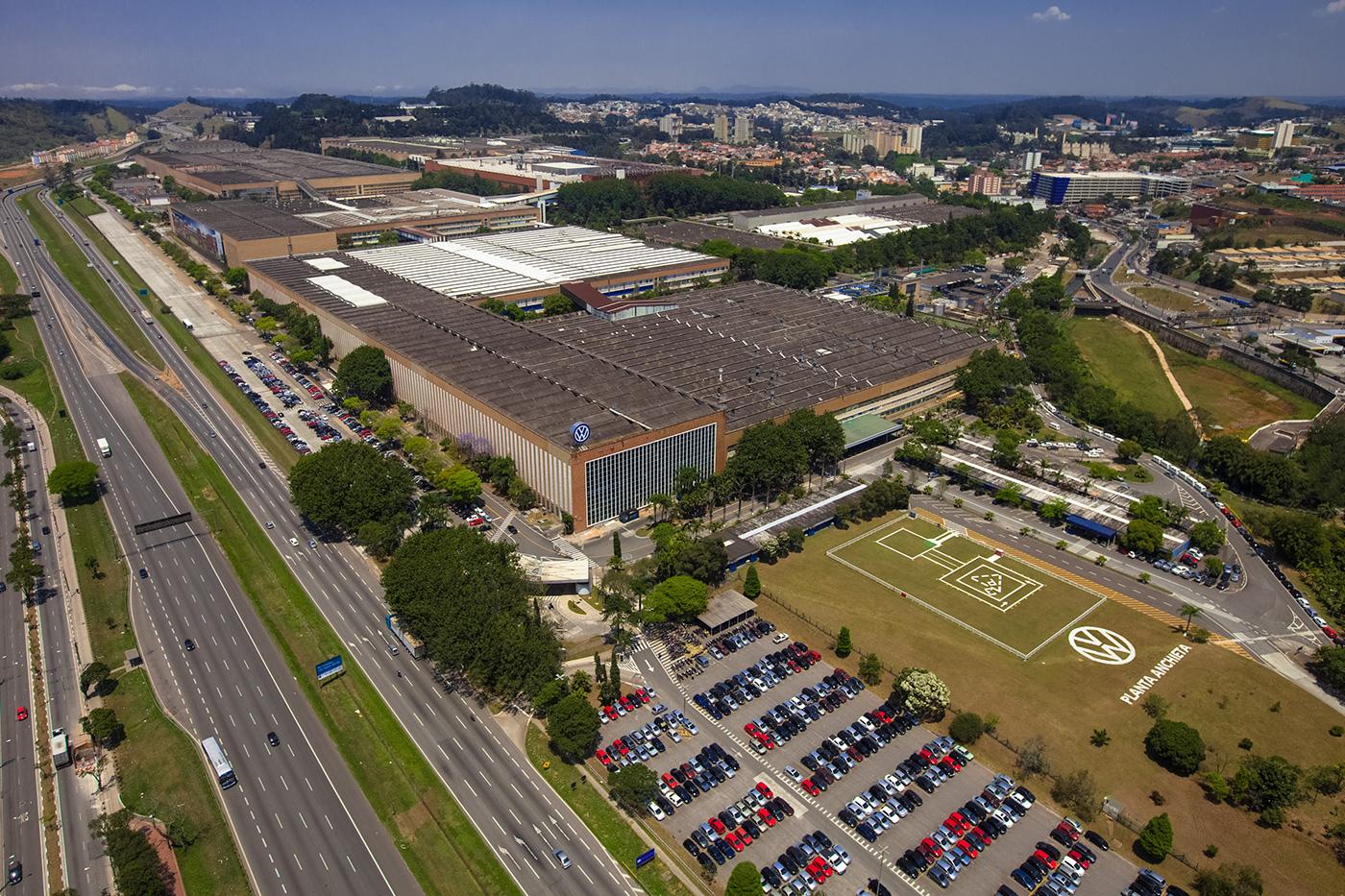 Volkswagen - fábrica da Anchieta