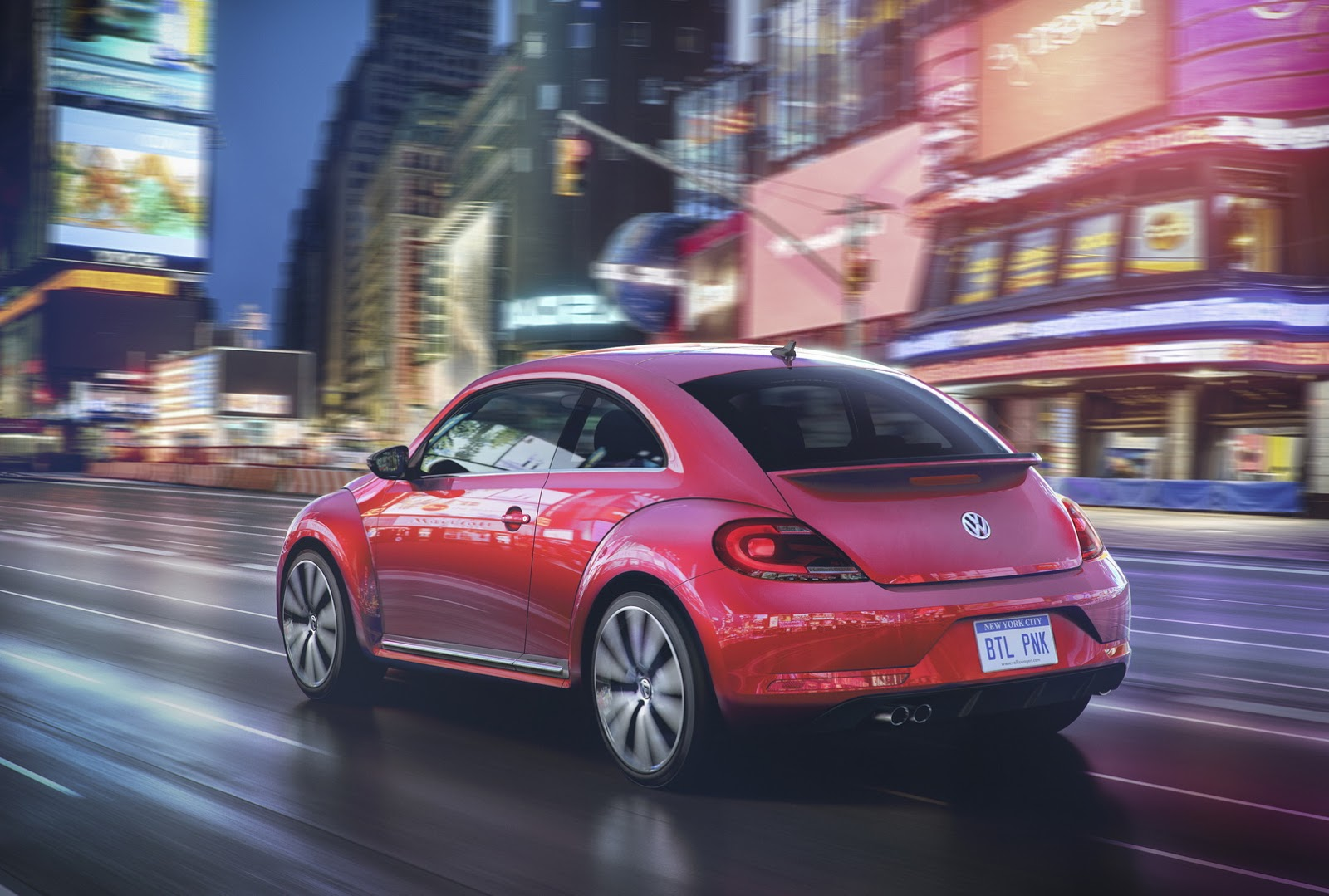 VW #PinkBeetle 2