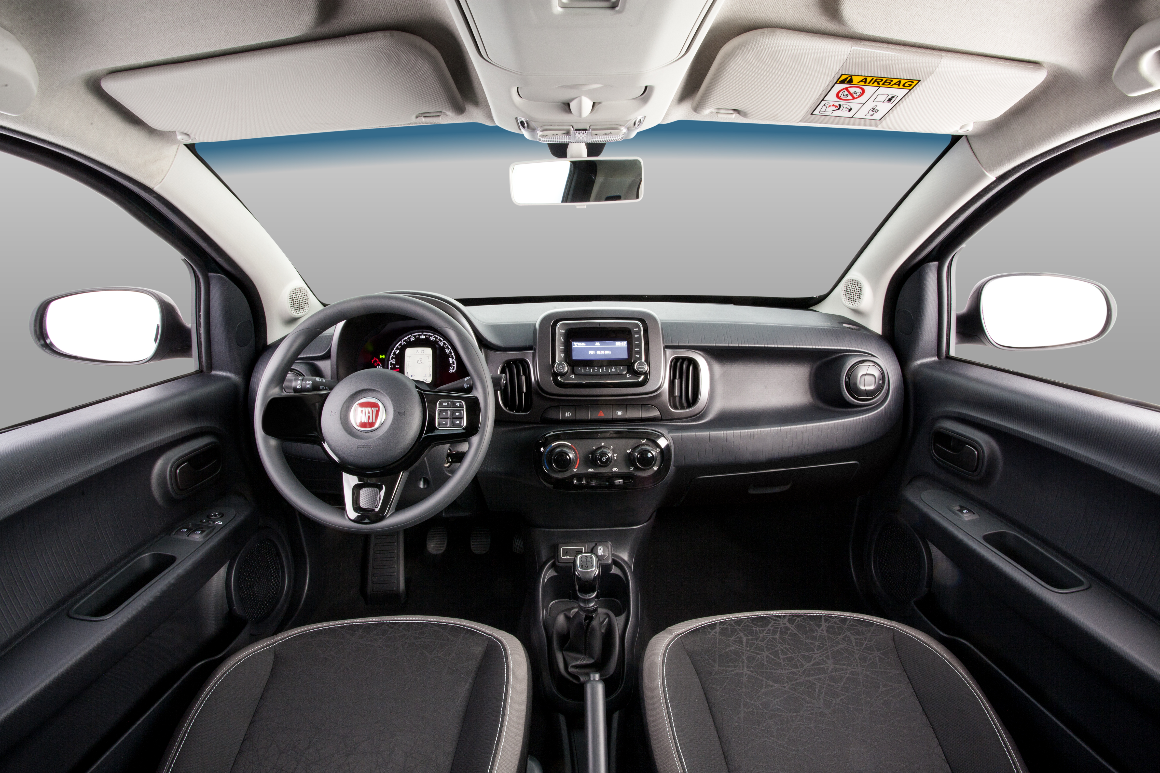Fiat Mobi Way On (interior)