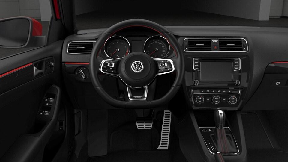 VW Vento GLI (interior)