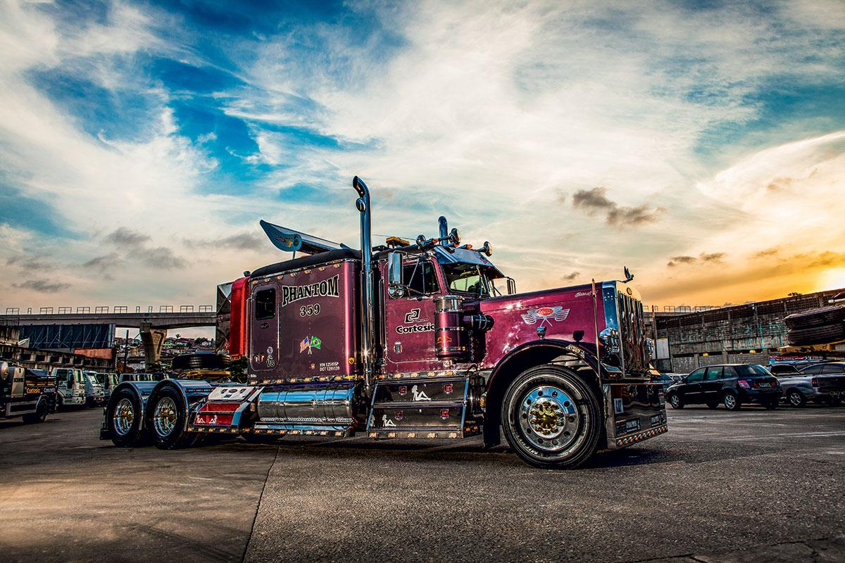 Sonho americano em forma de caminhão