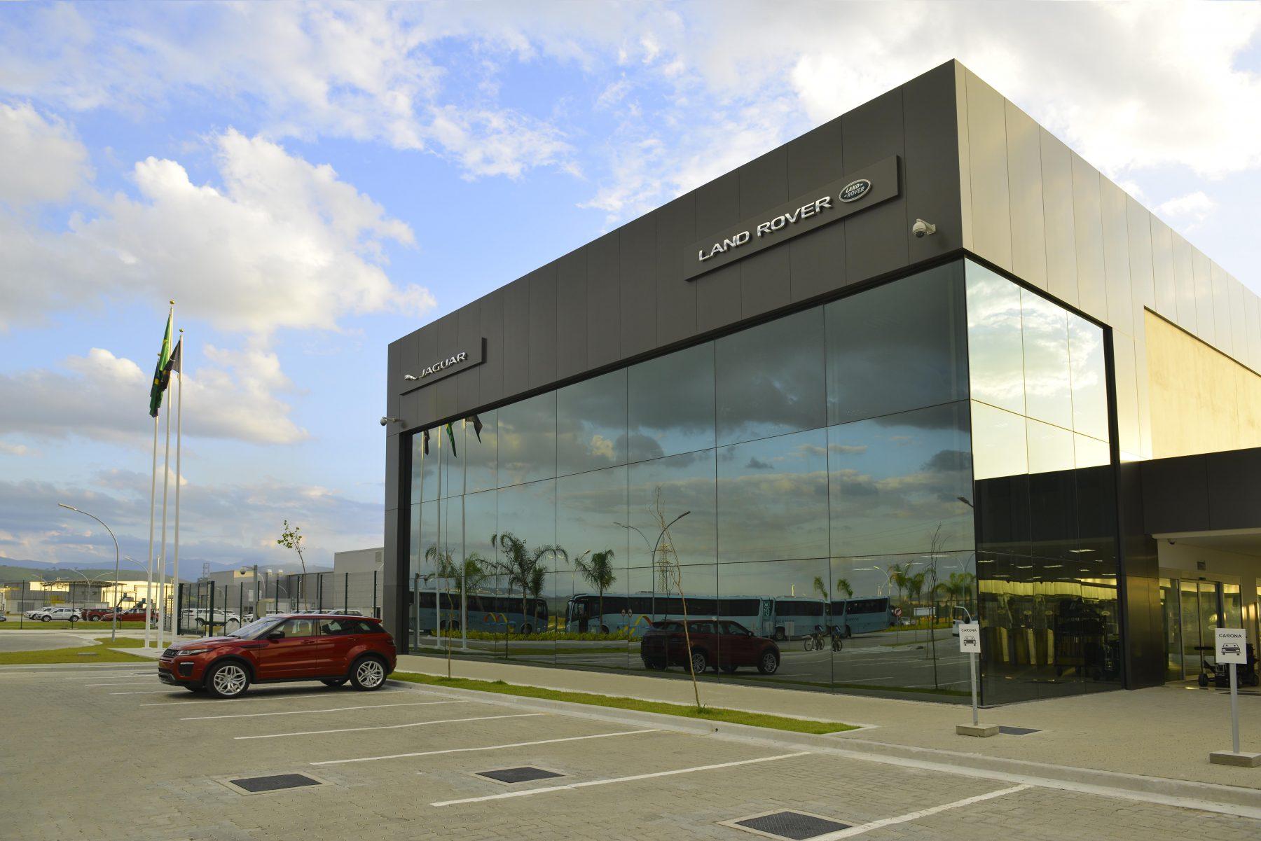 Fábrica da Jaguar/Land Rover em Itatiaia, RJ