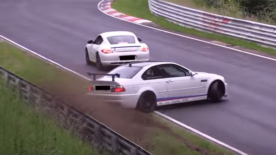 BMW M3 bate em Nürburgring
