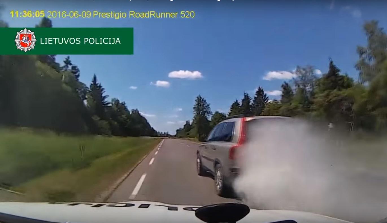 Perseguição Polícia da Lituânia