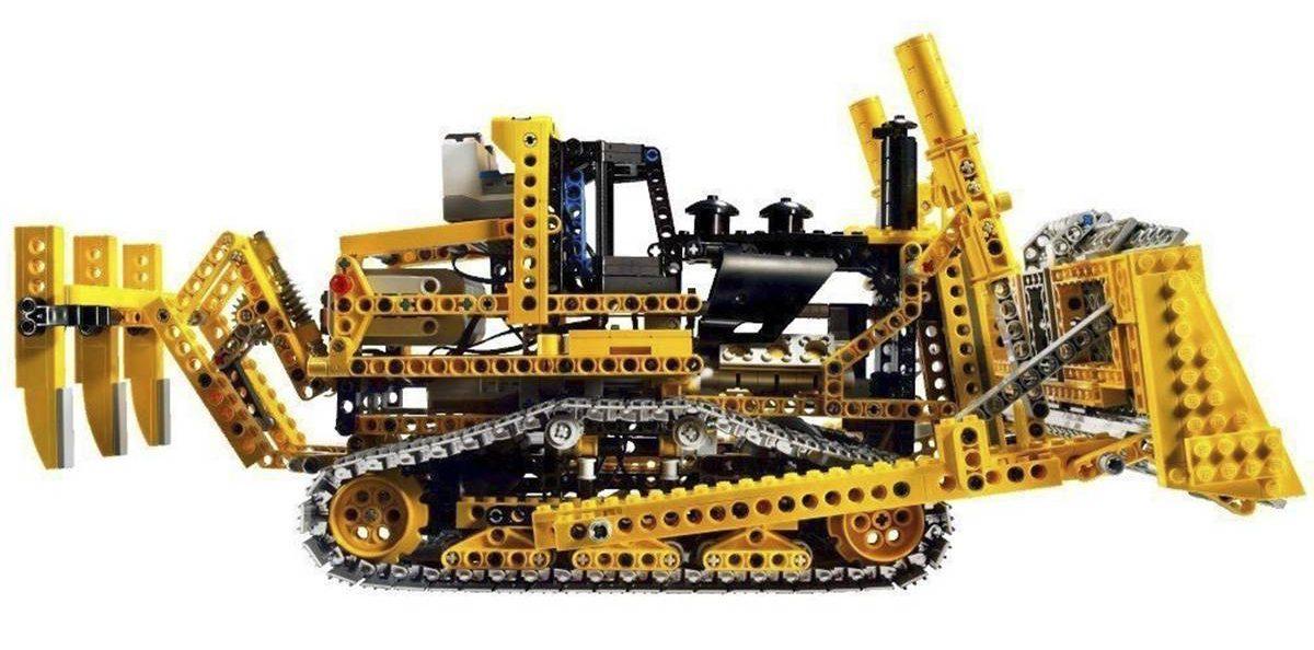 Motorised Bulldozer
