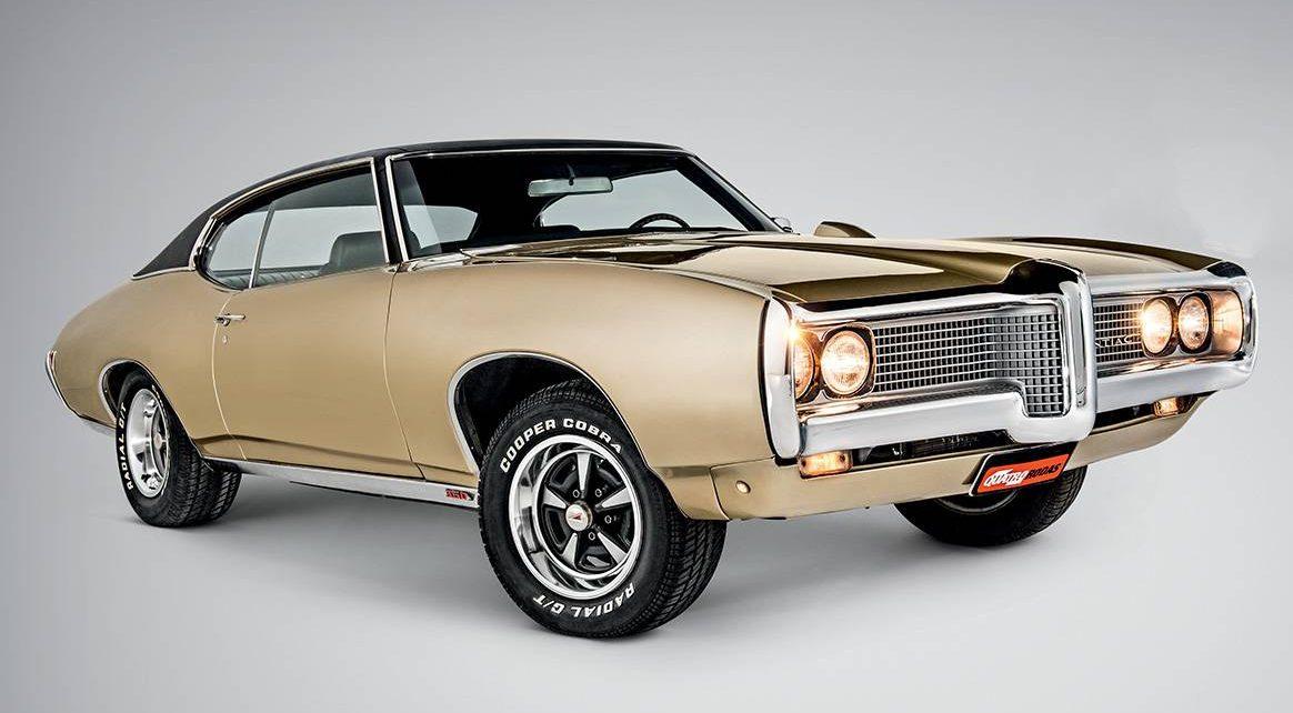 Com um V8 de até 7,4 litros, a versão LeMans GTO foi o primeiro muscle car