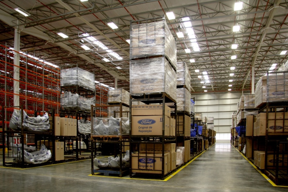 Centro de Distribuição da Ford em Gravataí