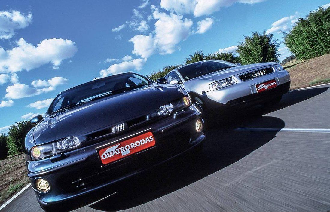 Audi A3 1.8 Turbo x Fiat Marea 2.0 Turbo