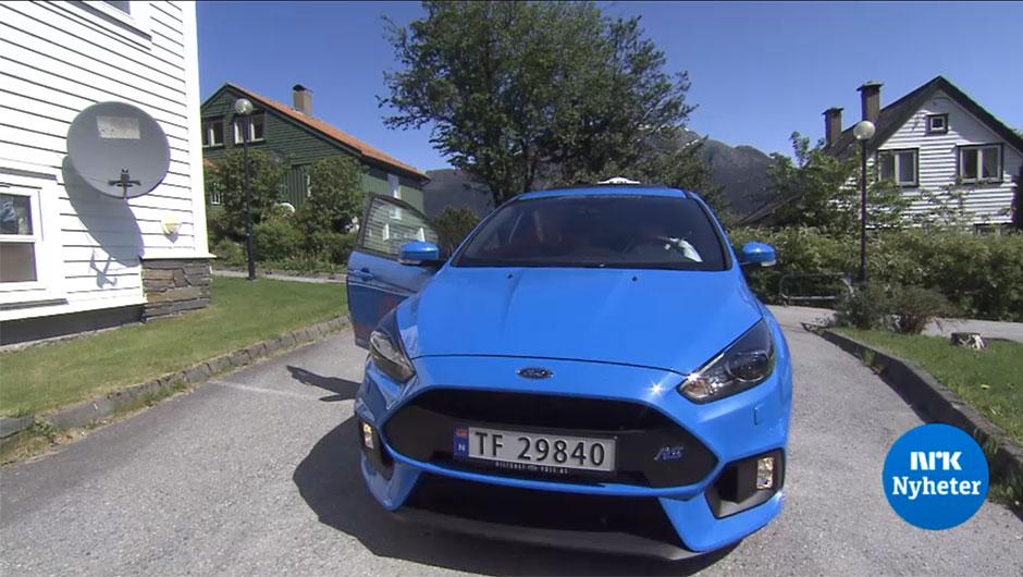 Ford Focus RS táxi