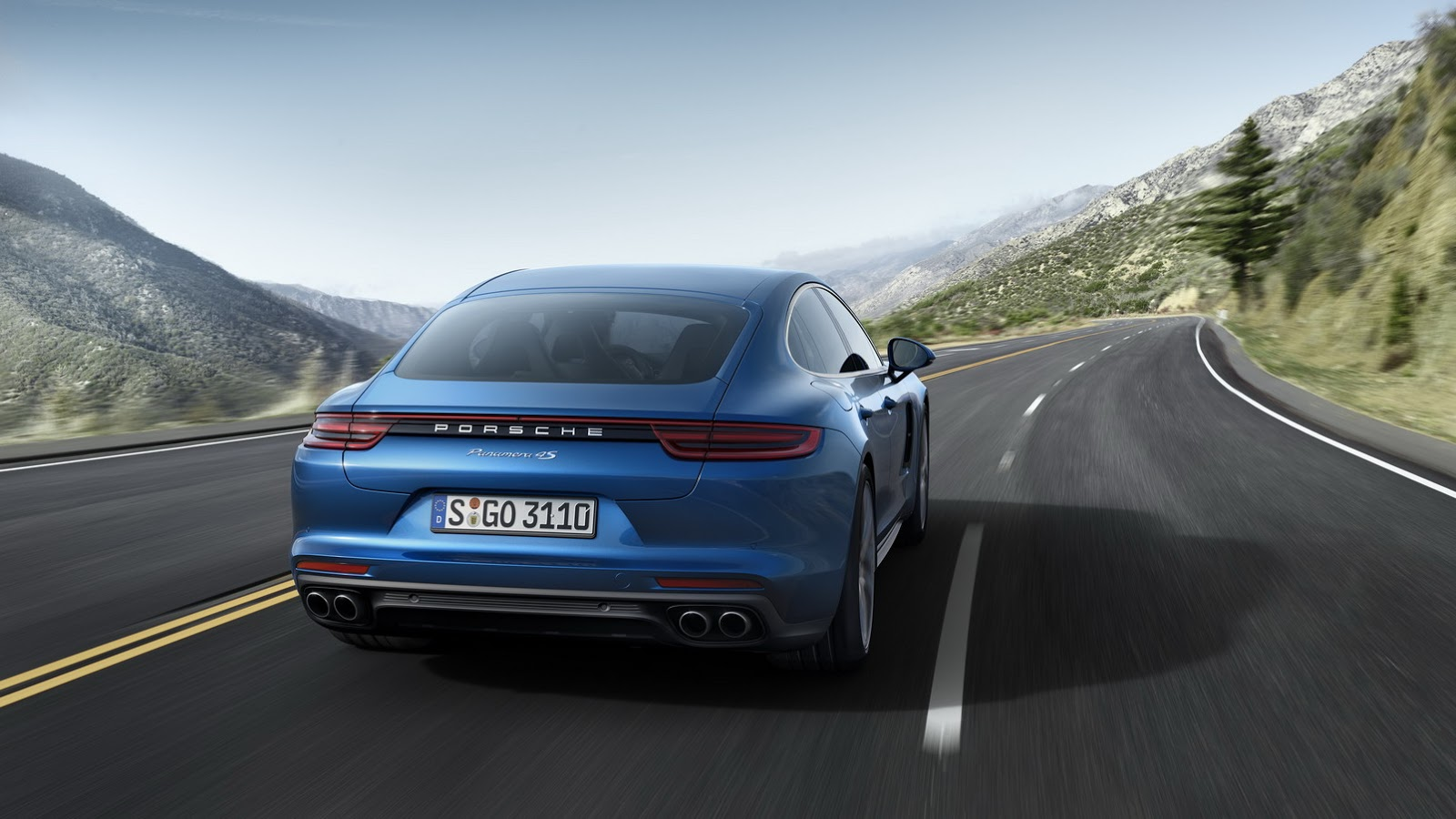 Novo Porsche Panamera 3