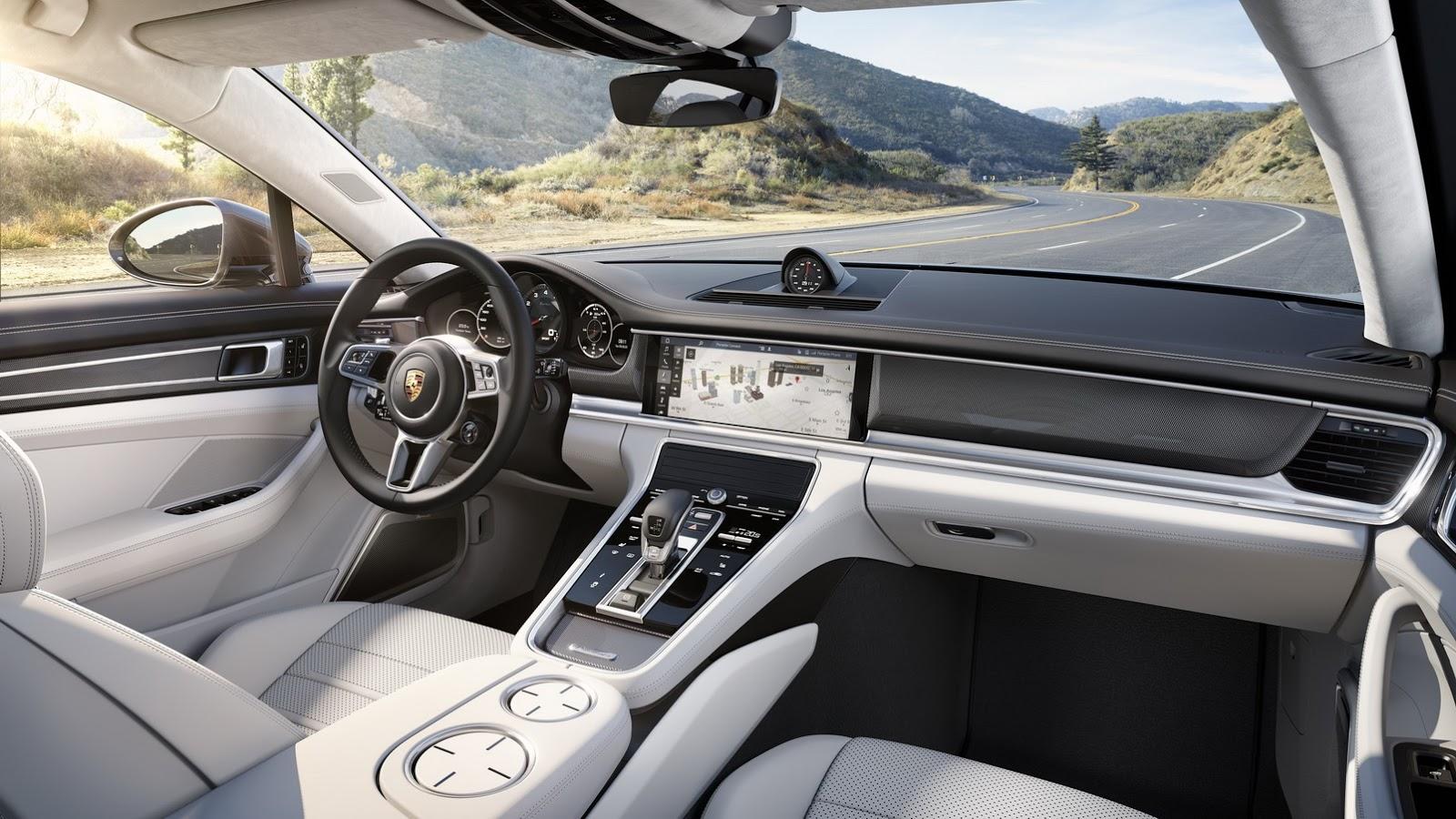 Novo Porsche Panamera (interior)