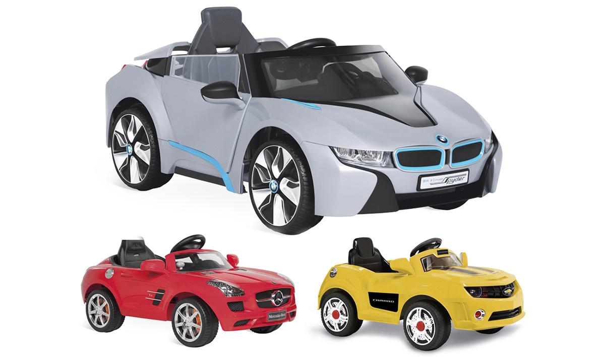 BMW, Mercedes e Camaro elétricos