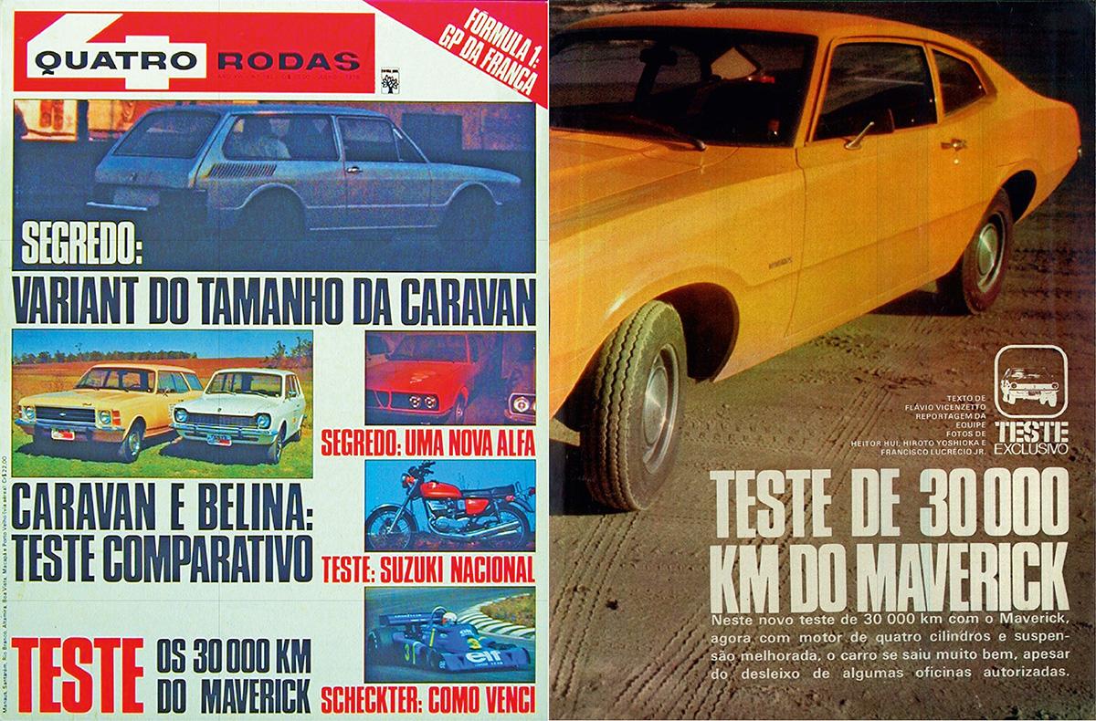 QUATRO RODAS - julho de 1976