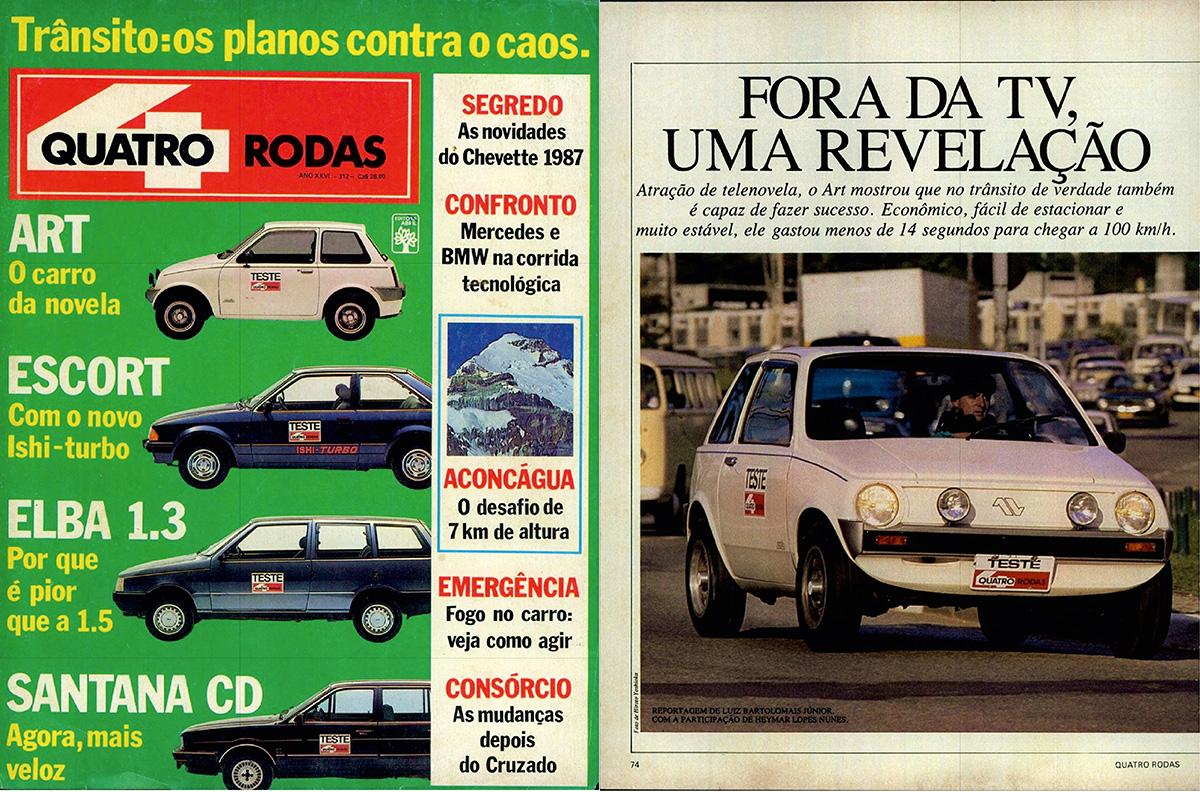 QUATRO RODAS - julho de 1986