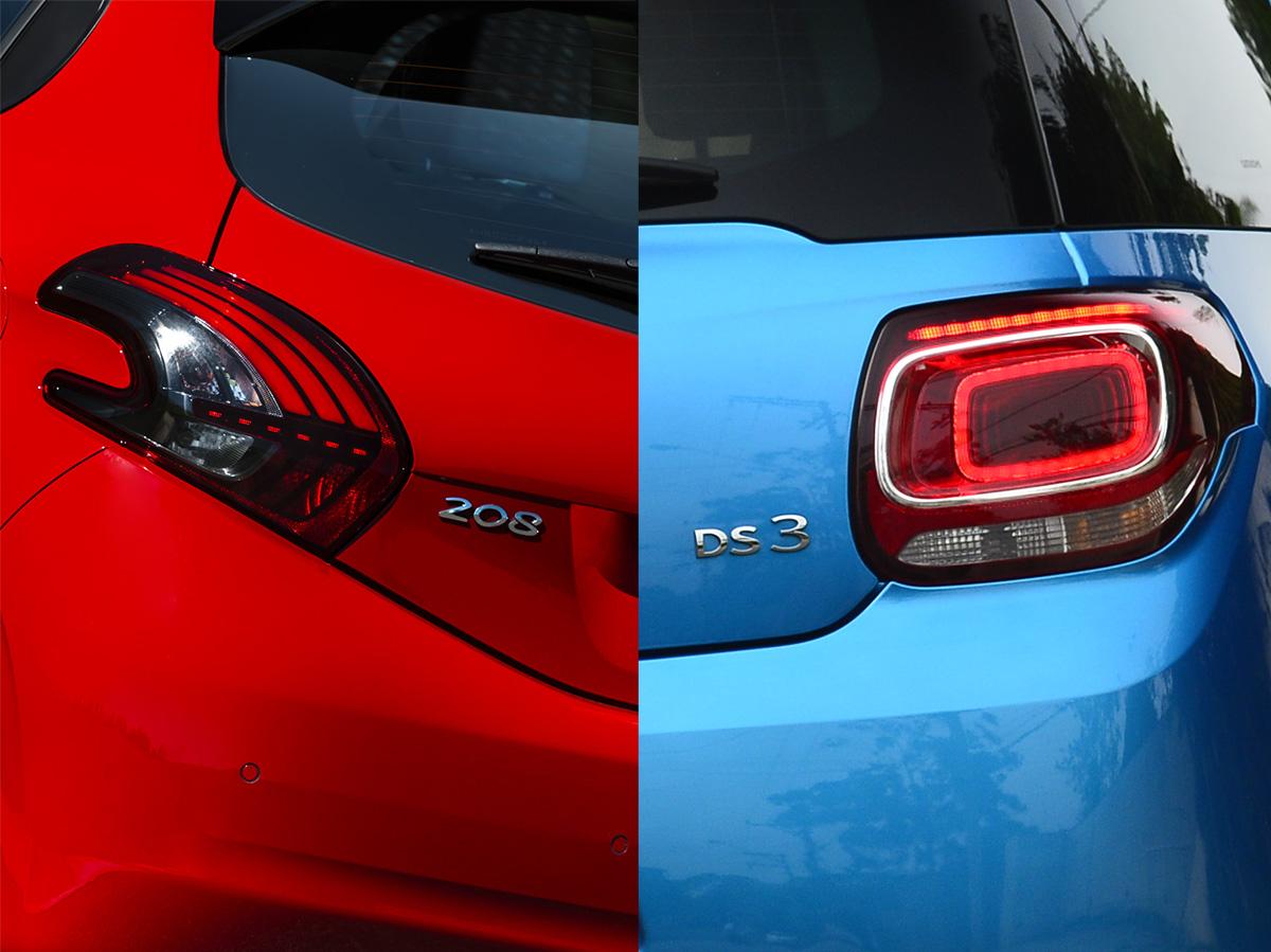 Peugeot 208 GT x DS 3