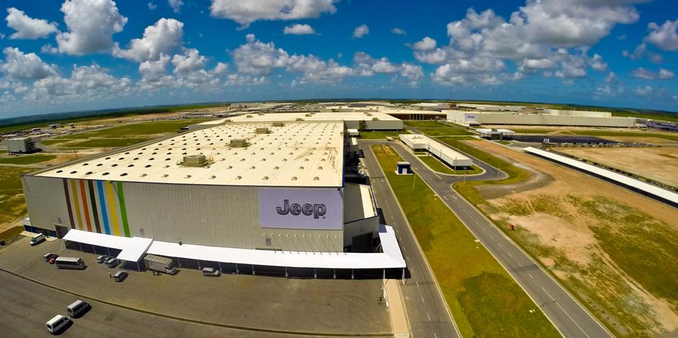 Fábrica da FCA em Goiana (PE)