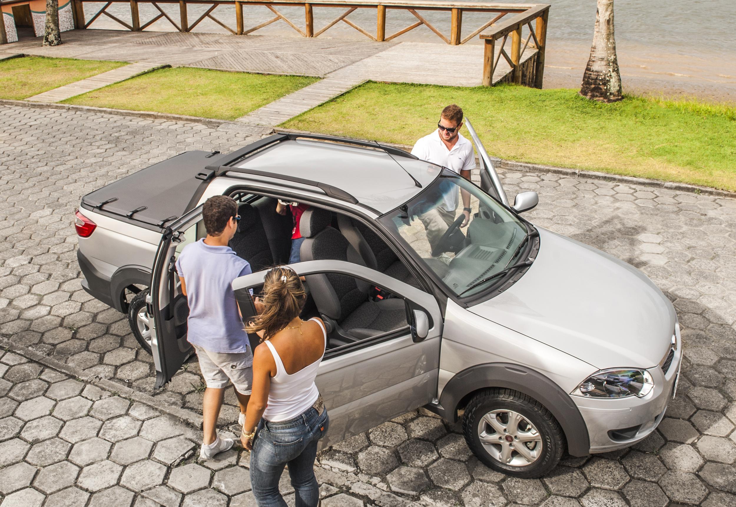 Fiat Strada Trekking CD