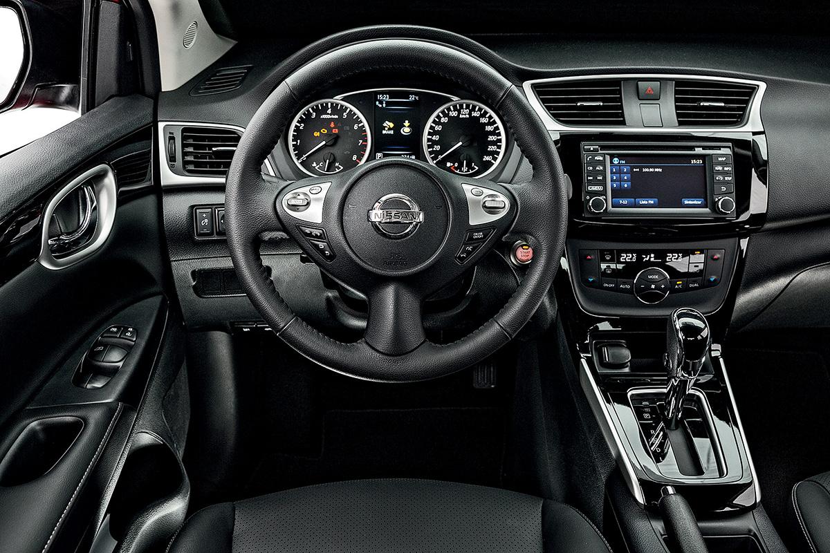Teste De Pista Nissan Sentra 2 0 Sl Quatro Rodas