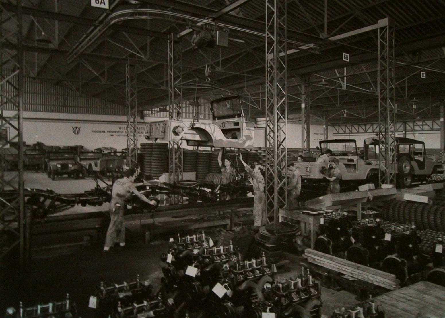 willys overland 1957