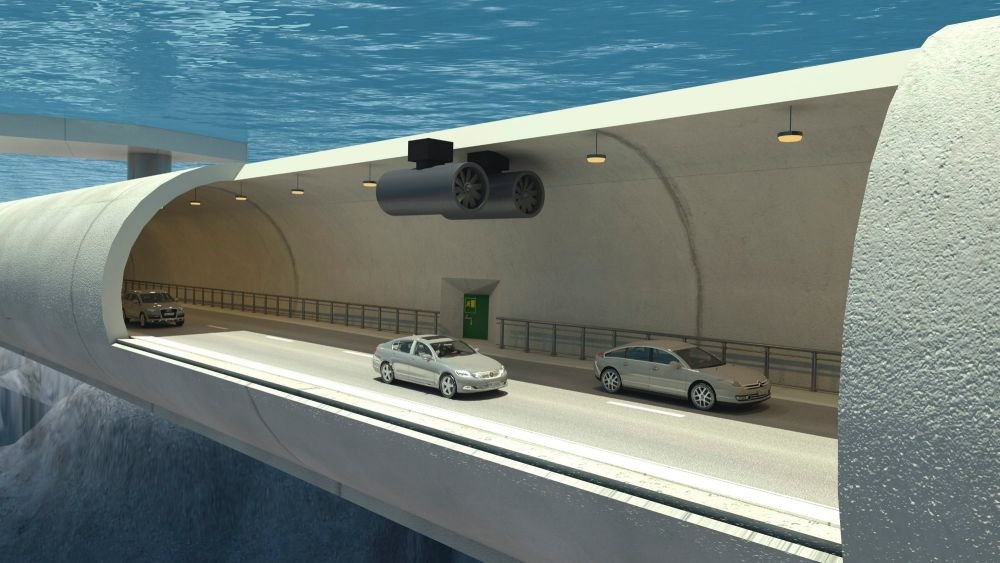 Túnel flutuante