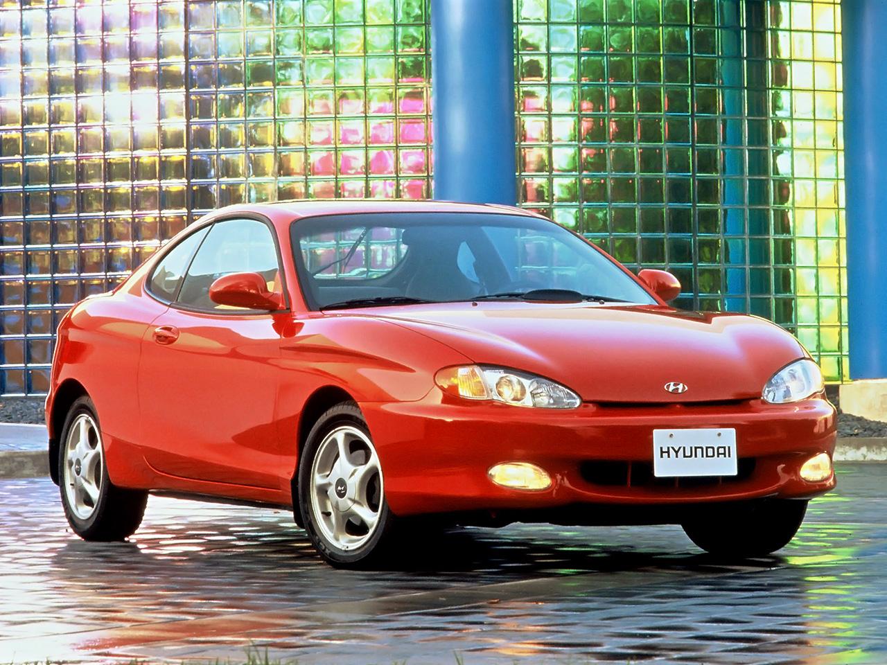 Hyundai Tiburon 1996 1