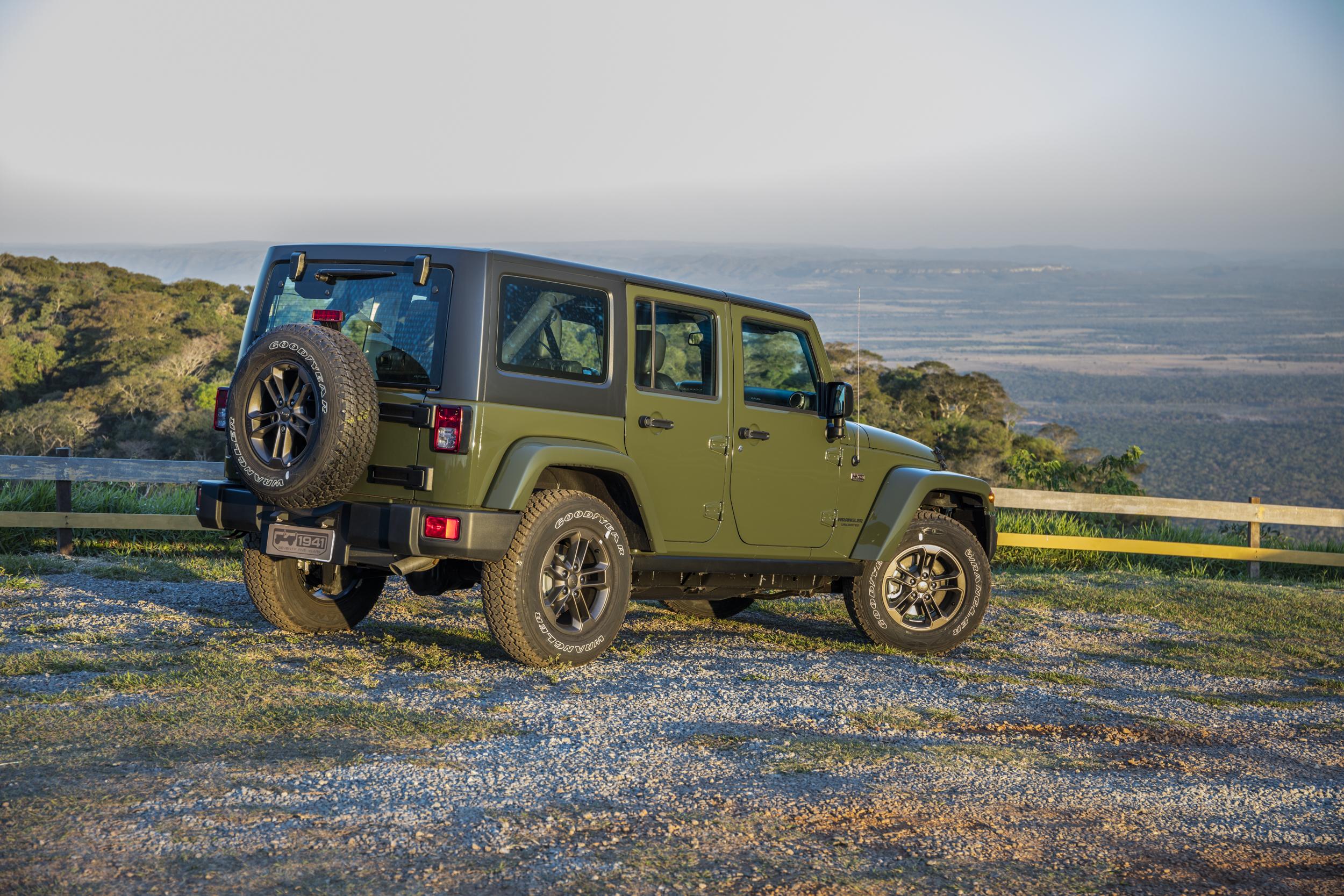 Jeep Wrangler 75 Anos