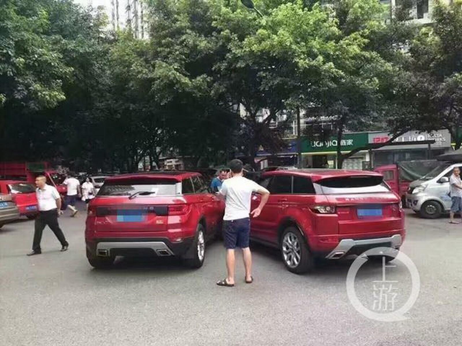 Land Wind X7 e Range Rover Evoque
