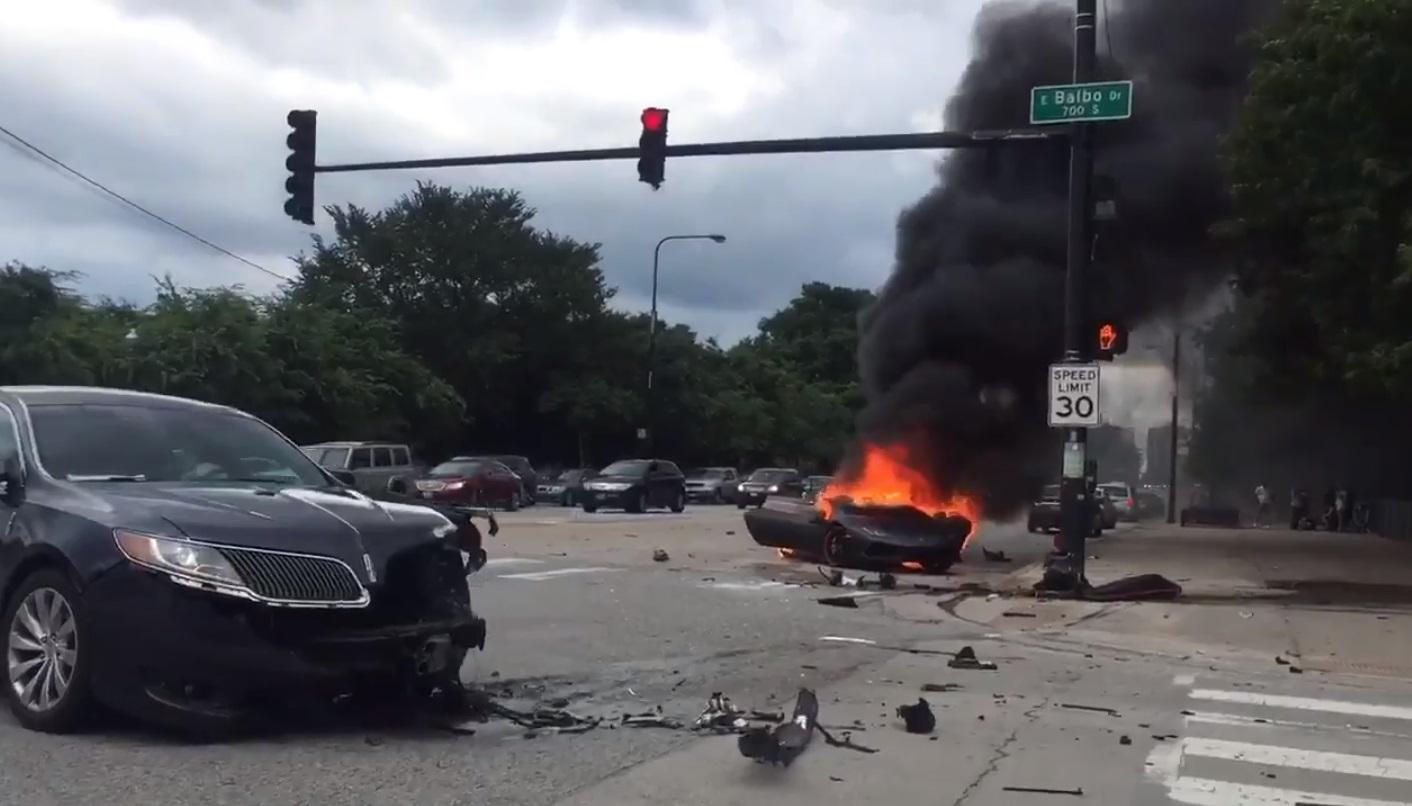 Acidente Lamborghini Huracán