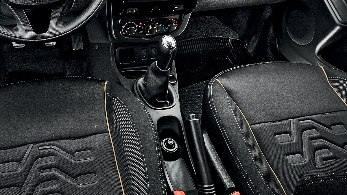 Interior do Renault Duster