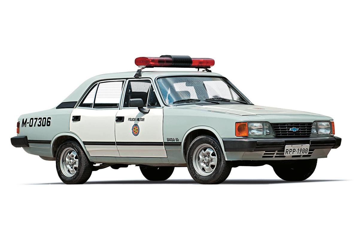 Viaturas policiais - Opala