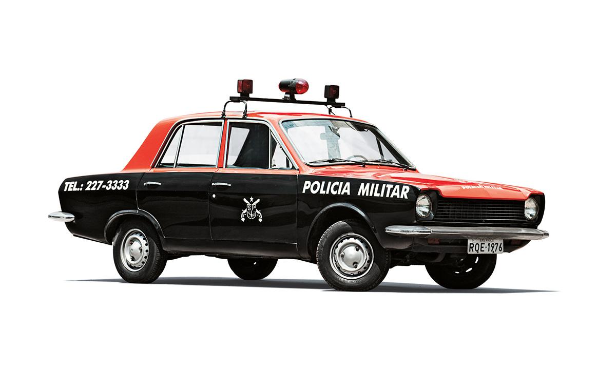 Viaturas policiais - Ford Corcel