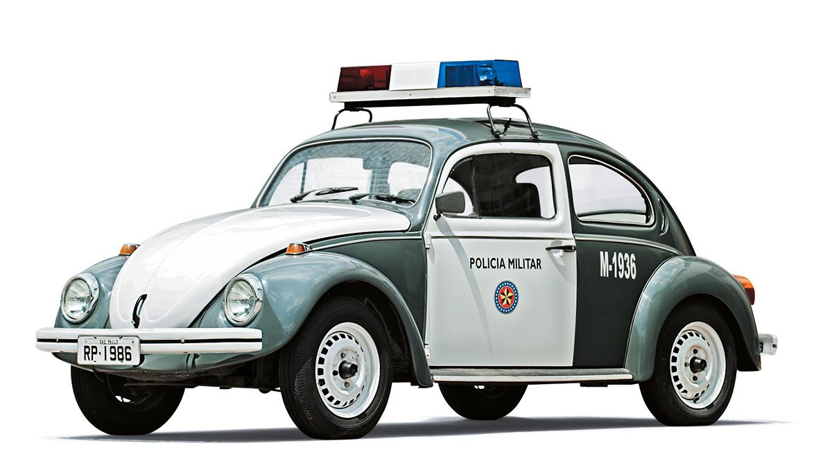 Viaturas policiais - VW Fusca