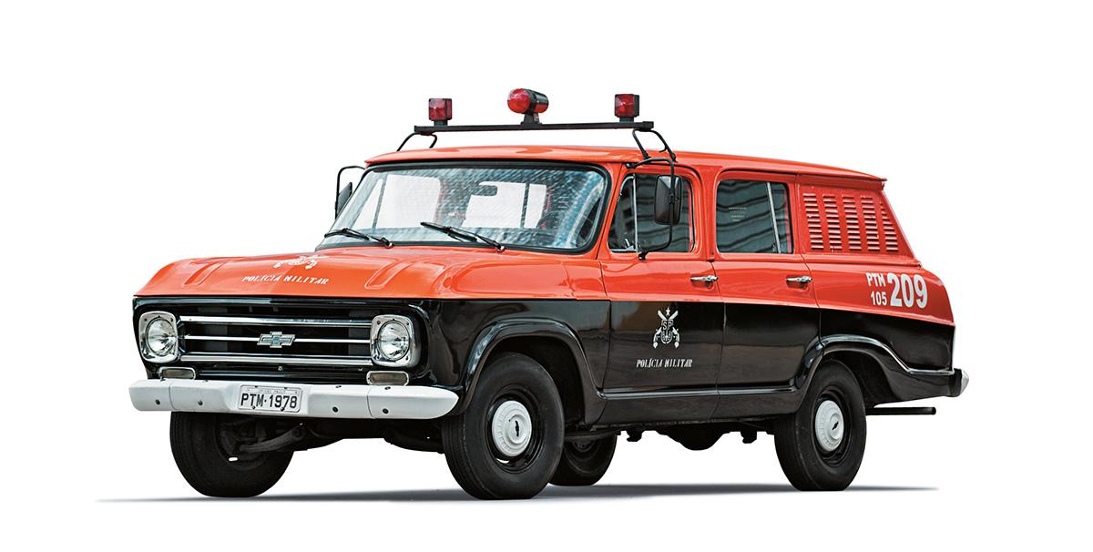 Viaturas policiais - Veraneio