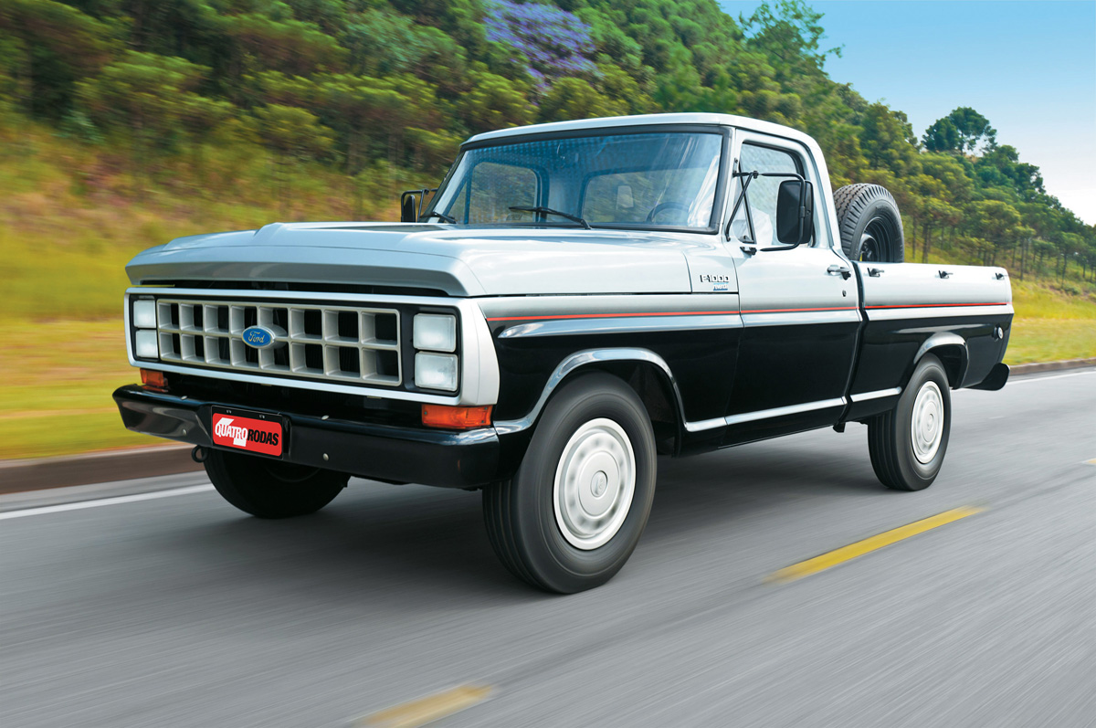 Ford F-1000 ano 1986