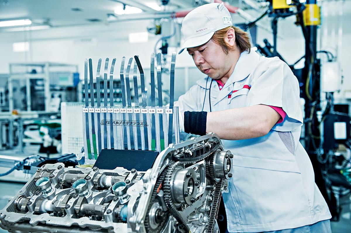Artesãos do Nissan GT-R