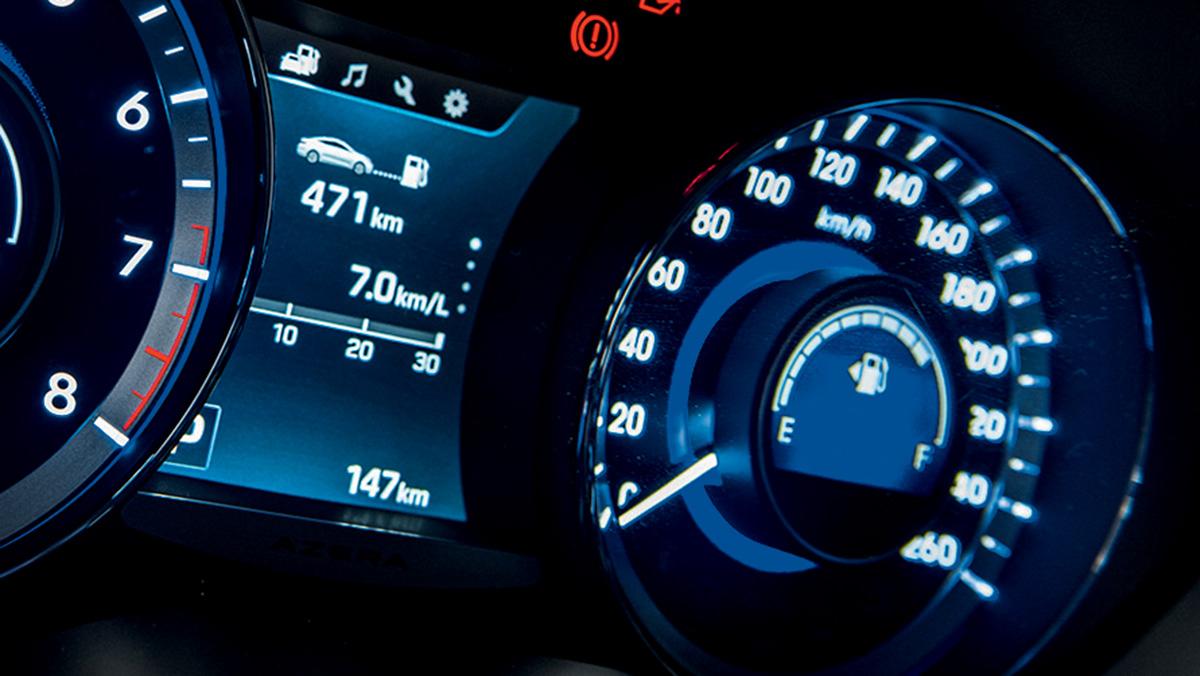 Consumo - Hyundai Azera