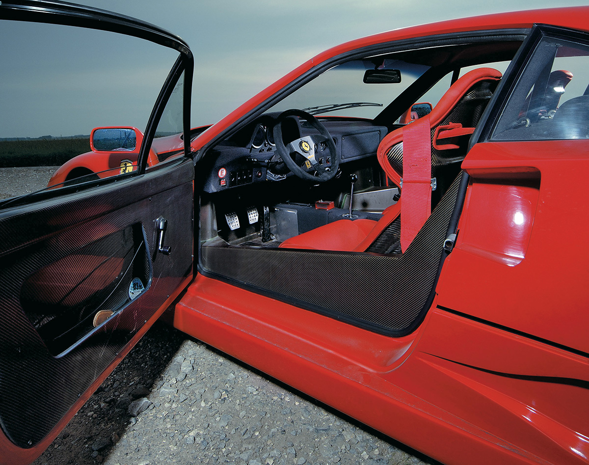 Ferrari F40 x McLaren F1 GTR
