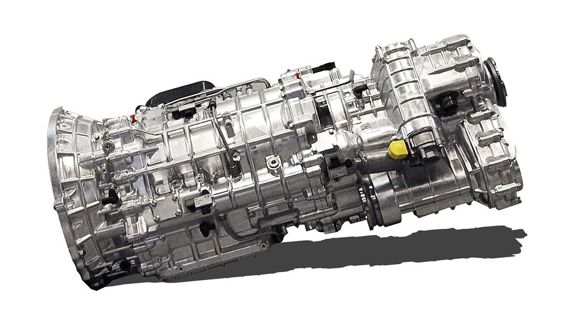 Transmissão de dupla embreagem da Land Rover