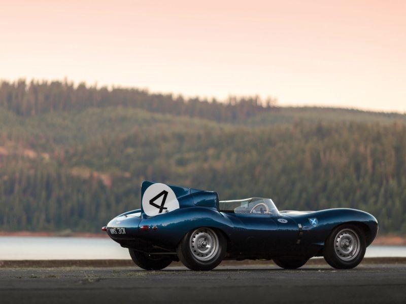 Jaguar D-Type Roadster 1955