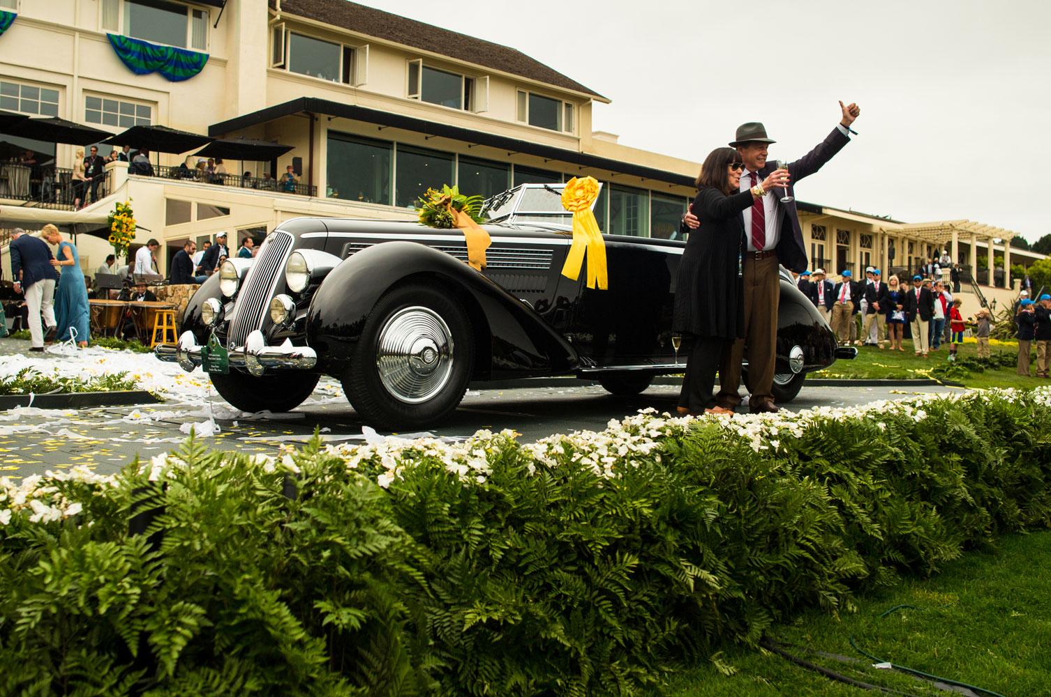 Pebble Beach - Lancia Astura Pininfarina 1936