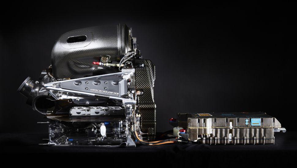 Motor Mercedes-AMG da F1