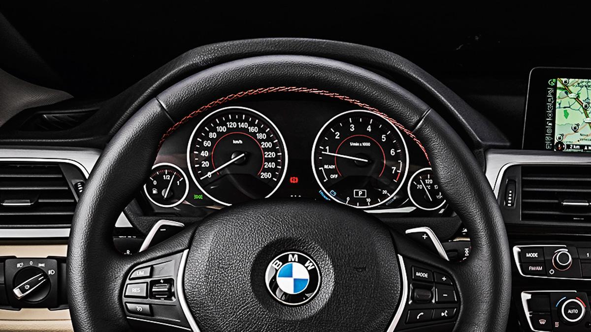 Painel de instrumentos do BMW 320i