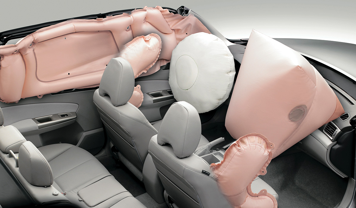 Airbags do Subaru Forester