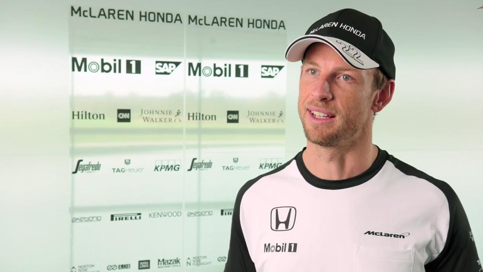 Jenson Button na McLaren