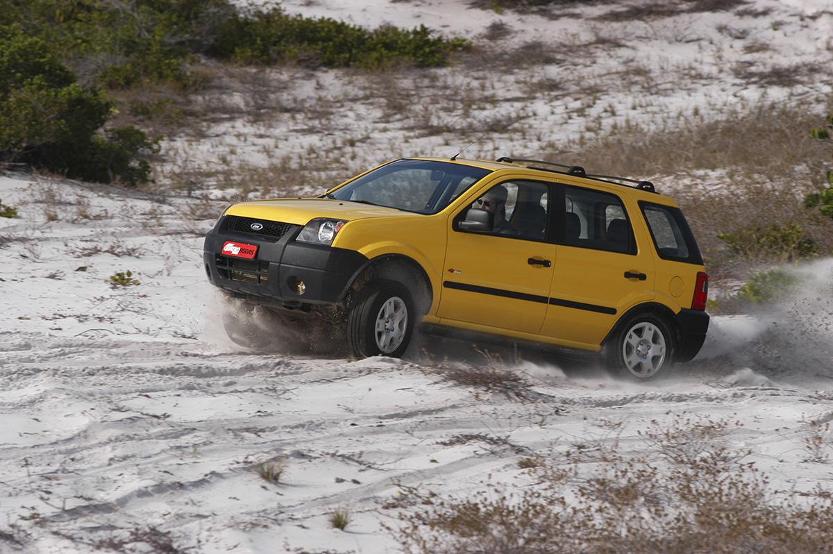 Ford EcoSport 4wd na areia
