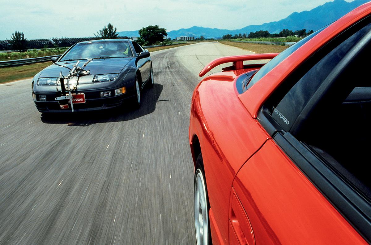 Mitsubishi 3000GT VR-4 x Nissan 300ZX