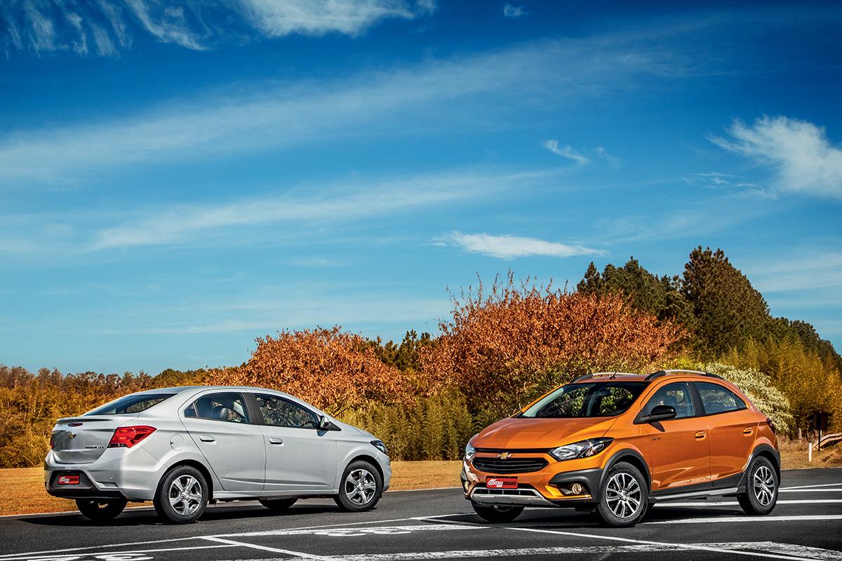 Chevrolet Onix e Prisma