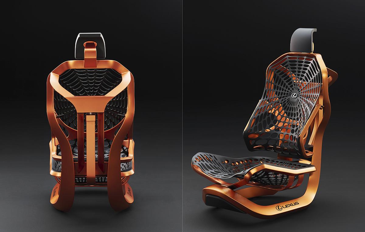 Lexus Kinect Seat