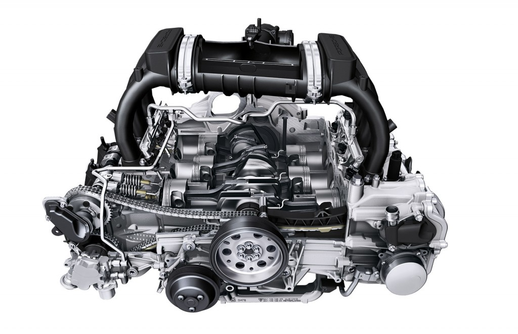 Motor boxer da Porsche