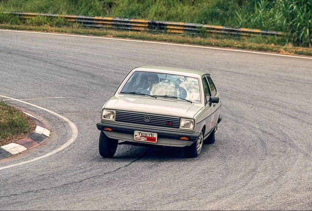 Ayrton Senna - VW Gol - Interlagos
